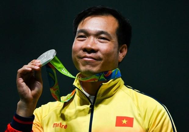 Hoang Xuan Vinh cosecha otra medalla en Rio, esta vez plateada hinh anh 1