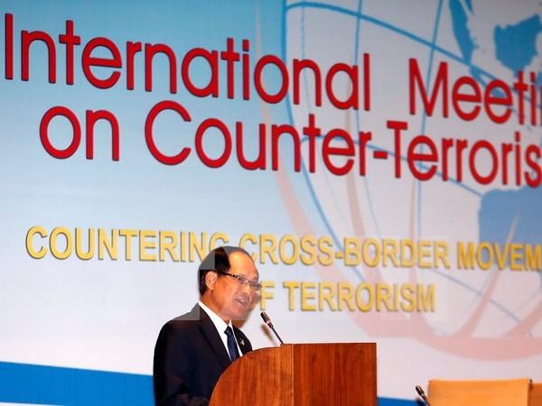 Indonesia acoge conferencia internacional sobre lucha contra el terrorismo hinh anh 1