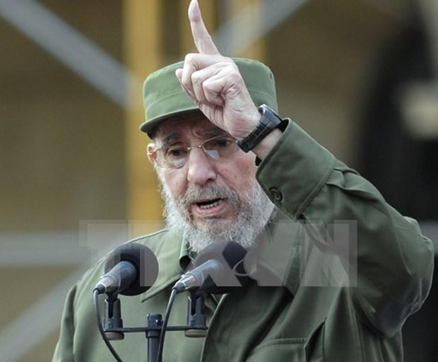 Conmemoran 90 anos del lider Fidel Castro en Sudamerica hinh anh 1