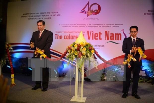 Celebran jornadas culturales vietnamitas en Tailandia hinh anh 1