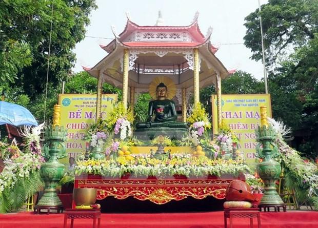 Exhiben en Vietnam estatua de Buda de jade mas grande del mundo hinh anh 1