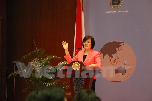 Vietnam comparte experiencias con Indonesia sobre TPP hinh anh 1
