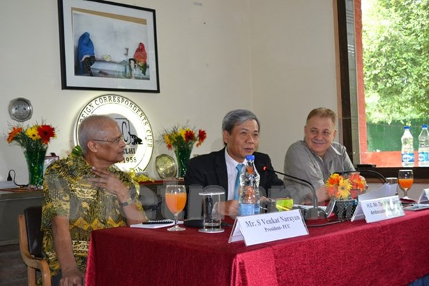 Vietnam e India disfrutan fructifera relacion y cooperacion hinh anh 1