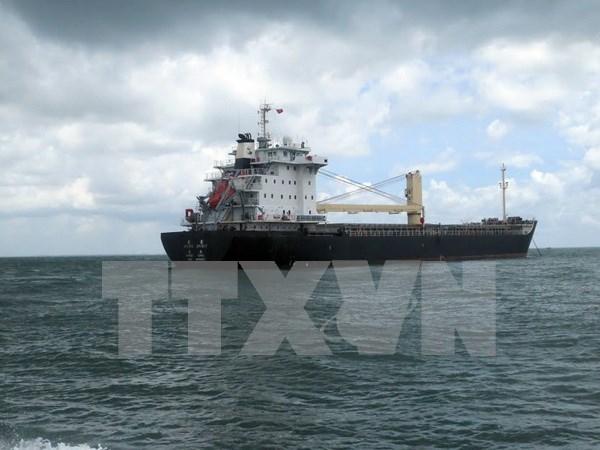 Vietnam rescata un marinero filipino gravemente enfermo en el mar hinh anh 1