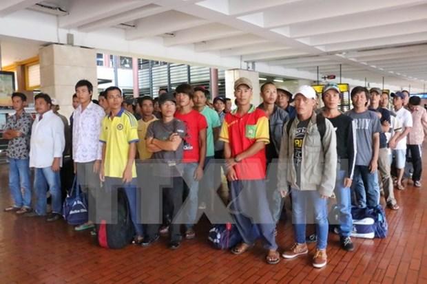 Indonesia libera a 49 pescadores vietnamitas hinh anh 1