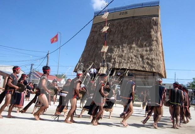 Dak Nong se empena en preservar y desarrollar el patrimonio cultural de Gongs hinh anh 1