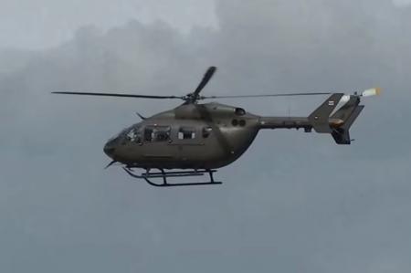 Helicoptero militar desaparecido en Tailandia hinh anh 1