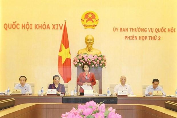 Comite Permanente del Parlamento de Vietnam inicia segunda sesion hinh anh 1