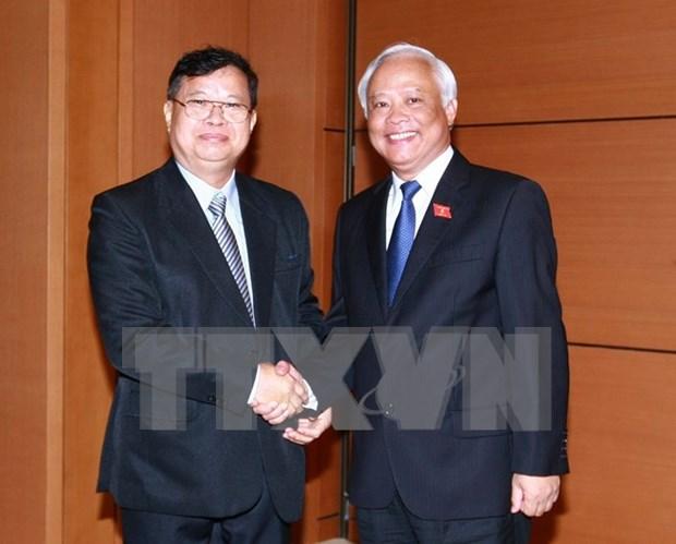 Buscan fortalecer cooperacion parlamentaria entre Vietnam y Laos hinh anh 1