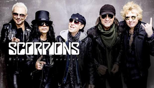 Banda de rock Scorpions actuara en Vietnam hinh anh 1
