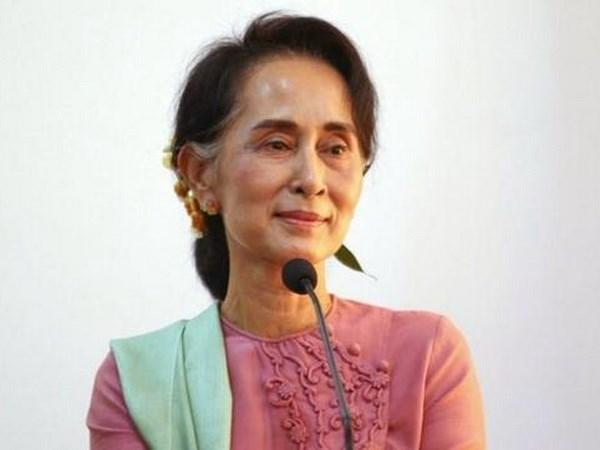 Asesora de Estado de Myanmar aboga por unidad nacional hinh anh 1