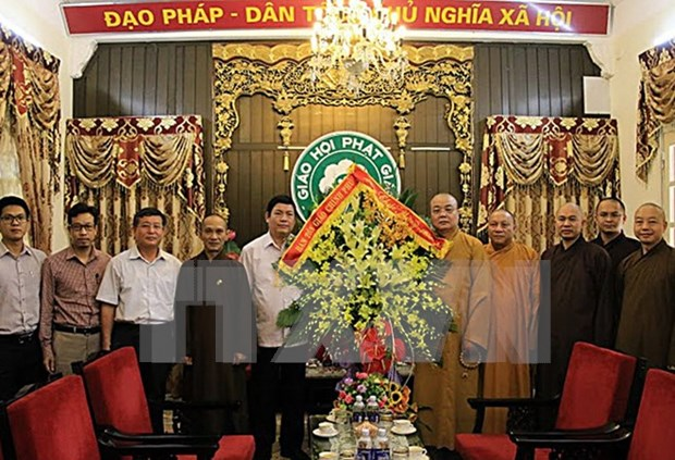 Felicitan a Sangha Budista de Vietnam en ceremonia de Vu Lan hinh anh 1