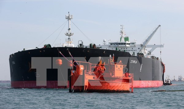 Piratas asaltan un petrolero en Malasia hinh anh 1