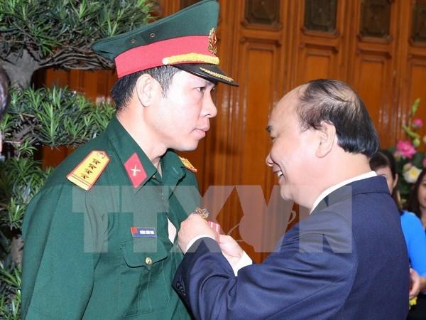 Premier felicita a delegacion deportiva vietnamita hinh anh 1