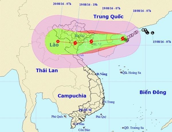 Enfrenta Vietnam amenaza de nuevo tifon hinh anh 1