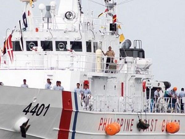 Filipinas recibe primer barco de patrullaje donado por Japon hinh anh 1