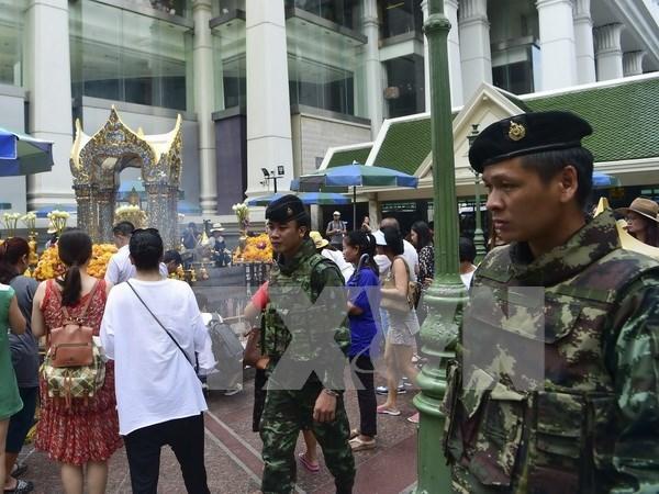 Tailandia detiene a sospechosos relacionados con serie de ataque de bombas hinh anh 1