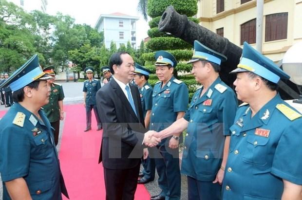 Presidente de Vietnam enfatiza garantia de secretos militares en era digital hinh anh 1