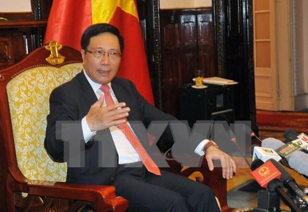 Diplomacia vietnamita busca nuevo pensamiento en nueva coyuntura hinh anh 1