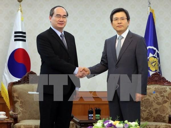 Vietnam propone ayuda de Sudcorea en formacion de personal en tecnologia informatica hinh anh 1