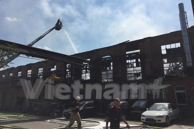Vietnamitas en Alemania sufren perdidas economicas por incendio hinh anh 1
