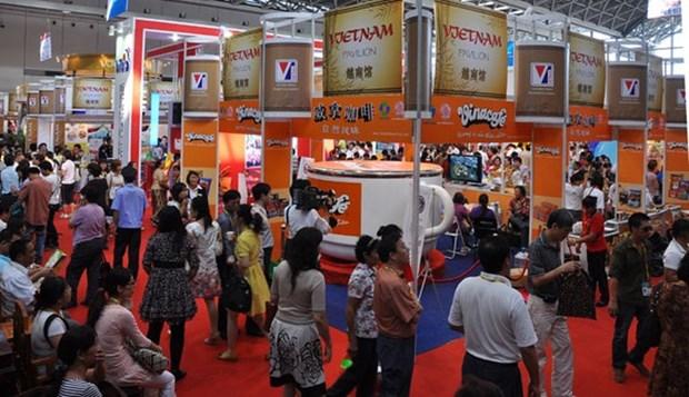Feria promueve comercio entre ASEAN y China hinh anh 1