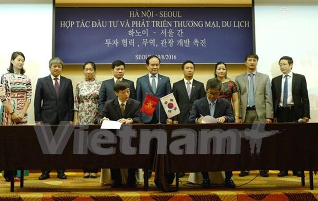 Incrementan Hanoi y Seul la cooperacion hinh anh 1