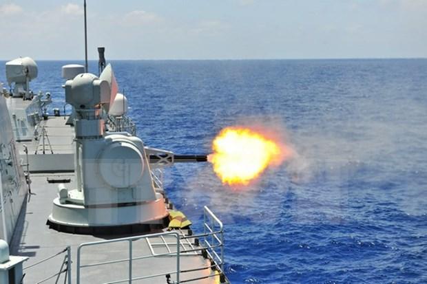 Comienza maniobra naval internacional SEACAT en Singapur hinh anh 1