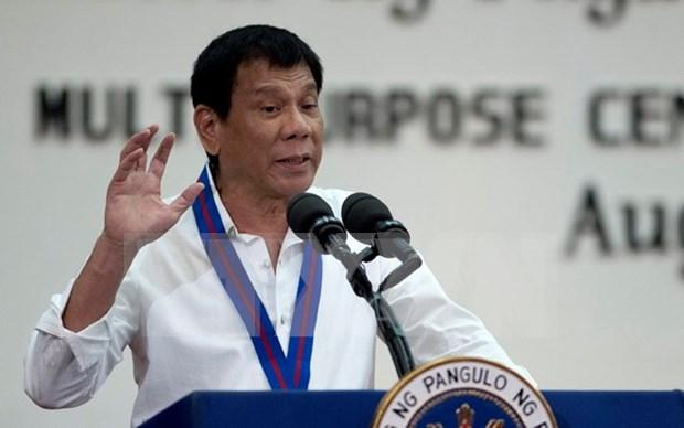 Presidente filipino amenaza con salir de ONU hinh anh 1