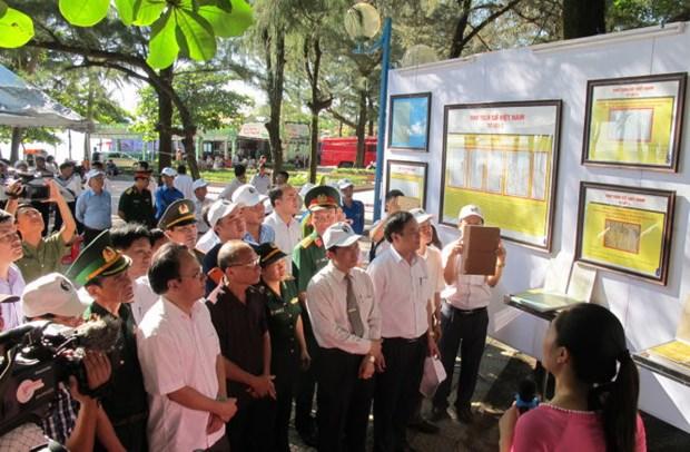 Exposicion muestra soberania vietnamita en Hoang Sa y Truong Sa hinh anh 1