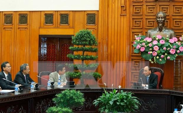 Lideres de Vietnam prometen condiciones optimas para inversores japoneses hinh anh 1