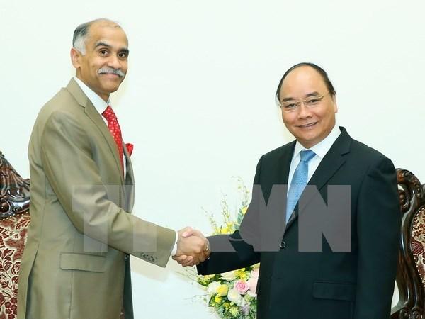 Premier vietnamita desea incrementar comercio con la India hinh anh 1