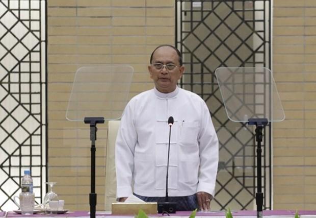 Partido del expresidente birmano Thein Sein forma Comite Directivo Central hinh anh 1