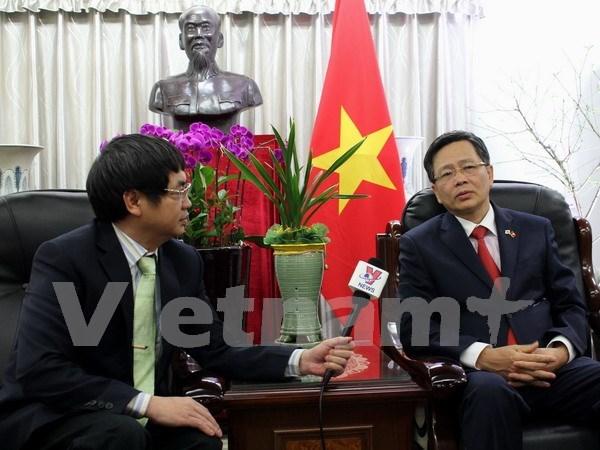 Pacto comercial con Sudcorea trae beneficios economicos para Vietnam hinh anh 1