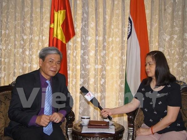 Vietnam fomenta nexos con India hinh anh 1
