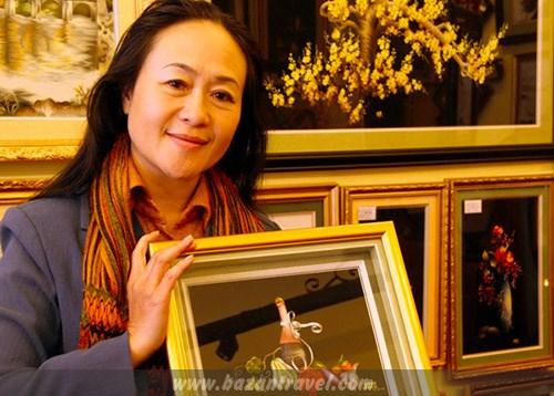Pintura bordada de Vietnam entre los 100 marcas mas conocidas de la ASEAN hinh anh 1