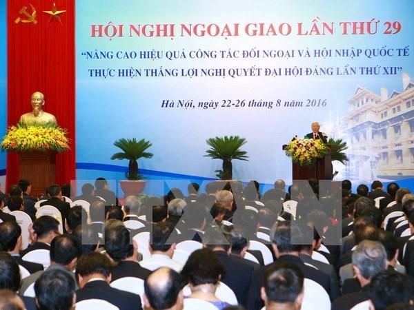 Embajadores de Vietnam opinan sobre diplomacia cultural hinh anh 1