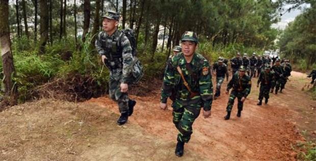 Embajador chino optimista sobre relaciones militares Vietnam- China hinh anh 1