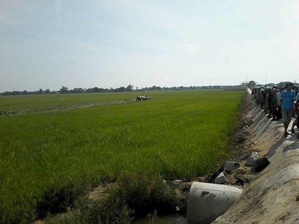 Un fallecido en accidente de avion militar durante entrenamiento en Vietnam hinh anh 1