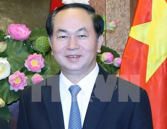 Presidente de Vietnam viaja a Brunei para iniciar una visita estatal hinh anh 1