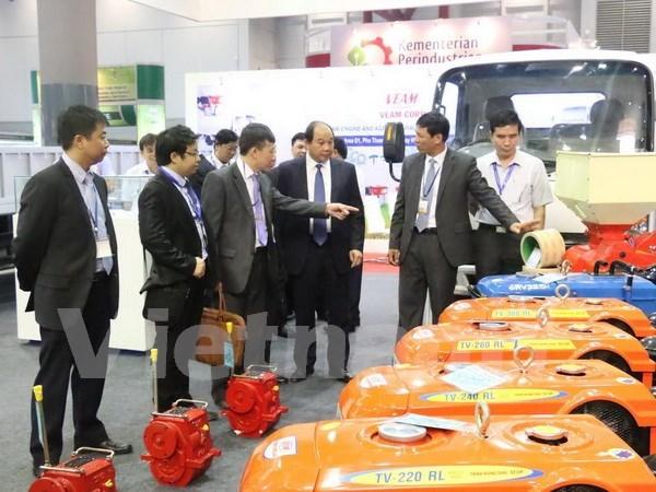 Empresas vietnamitas participan en exposicion de agricultura en Indonesia hinh anh 1