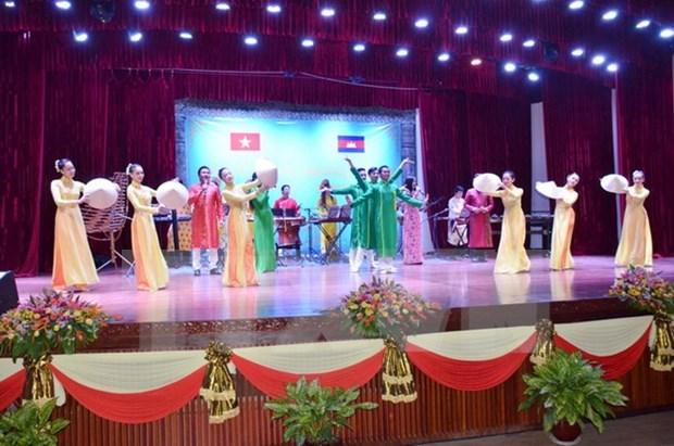 Inauguran la Semana de Cultura de Vietnam en Cambodia 2016 hinh anh 1