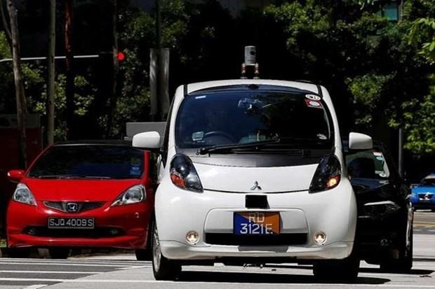 Entra en prueba primer coche auto-conducido en Singapur hinh anh 1