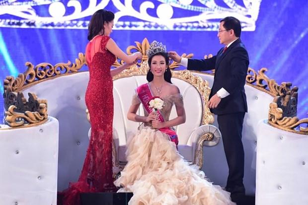 Do My Linh se corona como Miss Vietnam 2016 hinh anh 1