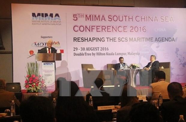 Celebran en Malasia conferencia internacional sobre Mar del Este hinh anh 1