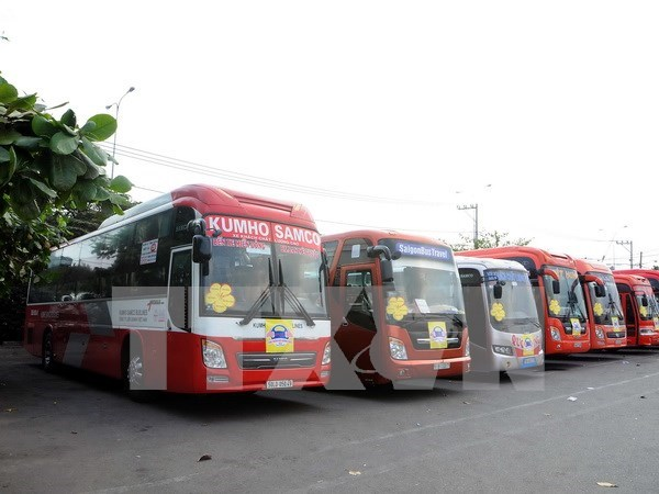 Crearan tres rutas de transporte de pasajeros Vietnam-Laos-Tailandia hinh anh 1