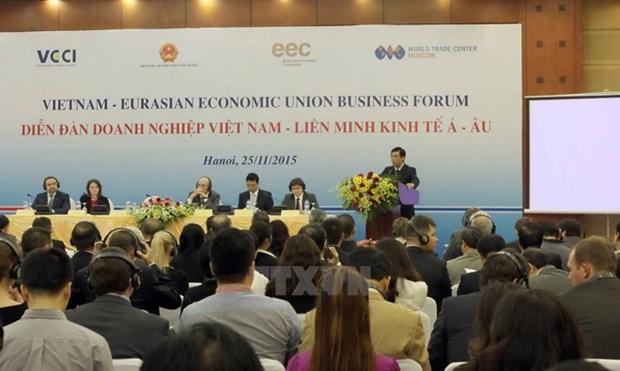Buenas perspectivas para Vietnam por TLC con Union Economica Euroasiatica hinh anh 1