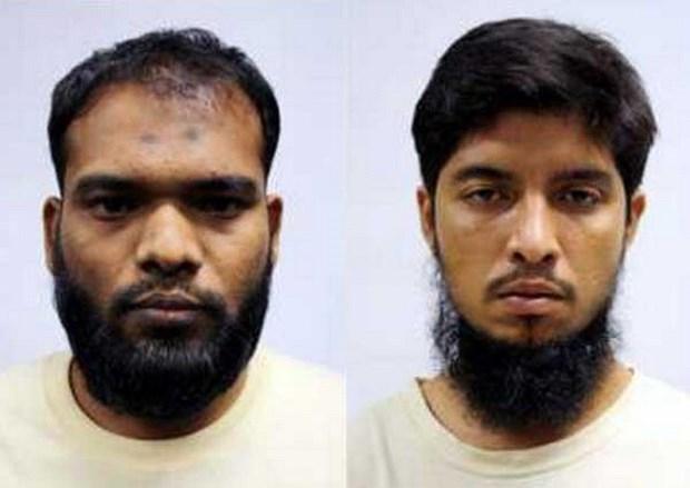 Dos bangladesies se declaran culpables de financiar el terrorismo en Singapur hinh anh 1