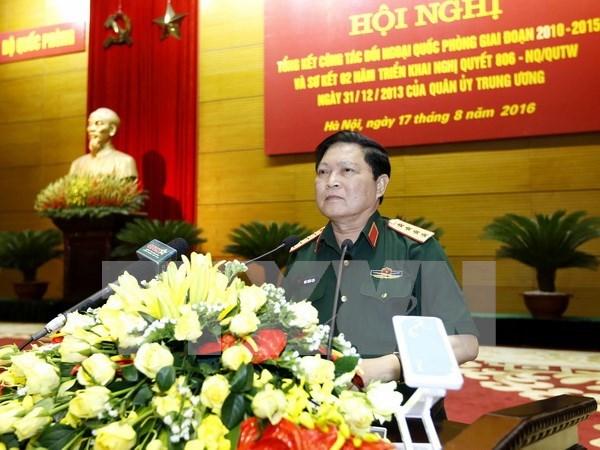 Nexos en defensa, factor importante de la asociacion estrategica Vietnam- China hinh anh 1
