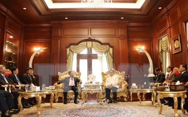 Vietnam y Laos intensifican cooperacion entre organizaciones politicas hinh anh 1